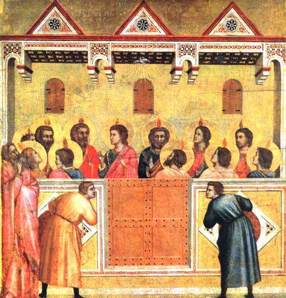 Giotto - La Pentecoste
